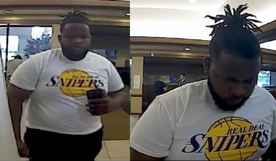 Detectives are seeking the identity of the male pictured in the released surveillance photos. This suspect conducted numerous unauthorized ATM withdrawals from a Chase Bank. This incident was captured on October 23, 2020.