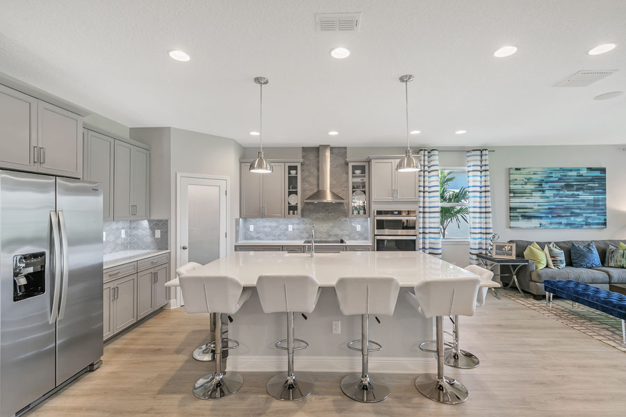 Pricing starts in the low $400,000s. Boeneman said new homes at Lakeside at Hamlin will range from 2,235 to 4,443 square feet and can be built with four to six bedrooms, two and one-half to four bathrooms and two-car garages.