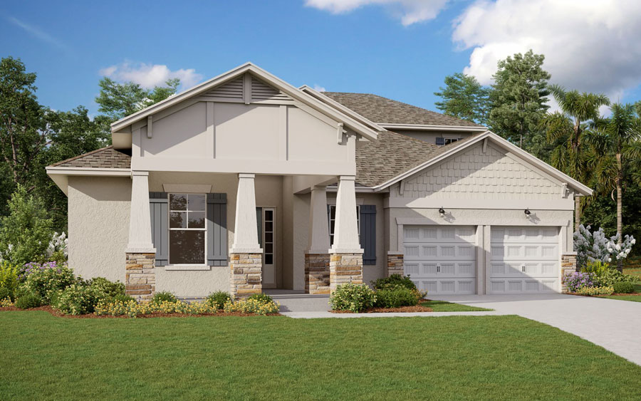 With the community in its infancy, sales currently are being handled from Dream Finders' Wincey Groves at Hamlin development on Orange Orchard Drive in Winter Garden, according to Gerry Boeneman, president of Dream Finders' Central Florida division.