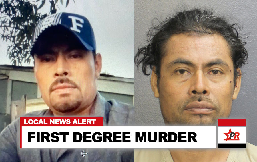 Noe Jimenez-Cortes, 40, of North Lauderdale, will now face a charge of first degree murder upgraded from attempted murder. According to county records Jimenez-Cortes also faces arson and a charge related to immigration. He is listed as being on immigration hold with the holder listed as US Border Patrol.