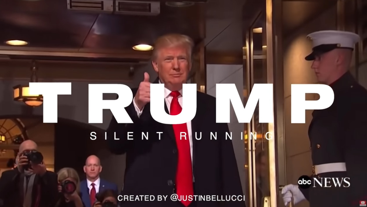 Donald J. Trump: Do You Hear Me Running? (Remix) by Justin Bellucci