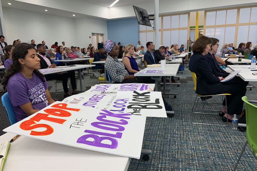 At a public hearing on block grants for Medicaid in Nashville, Tennessee, on Oct. 1, 2019, advocates and health care professionals spoke out against the proposal. Nevertheless, the Trump administration approved it on Jan. 8, 2021, just 12 days before leaving office.