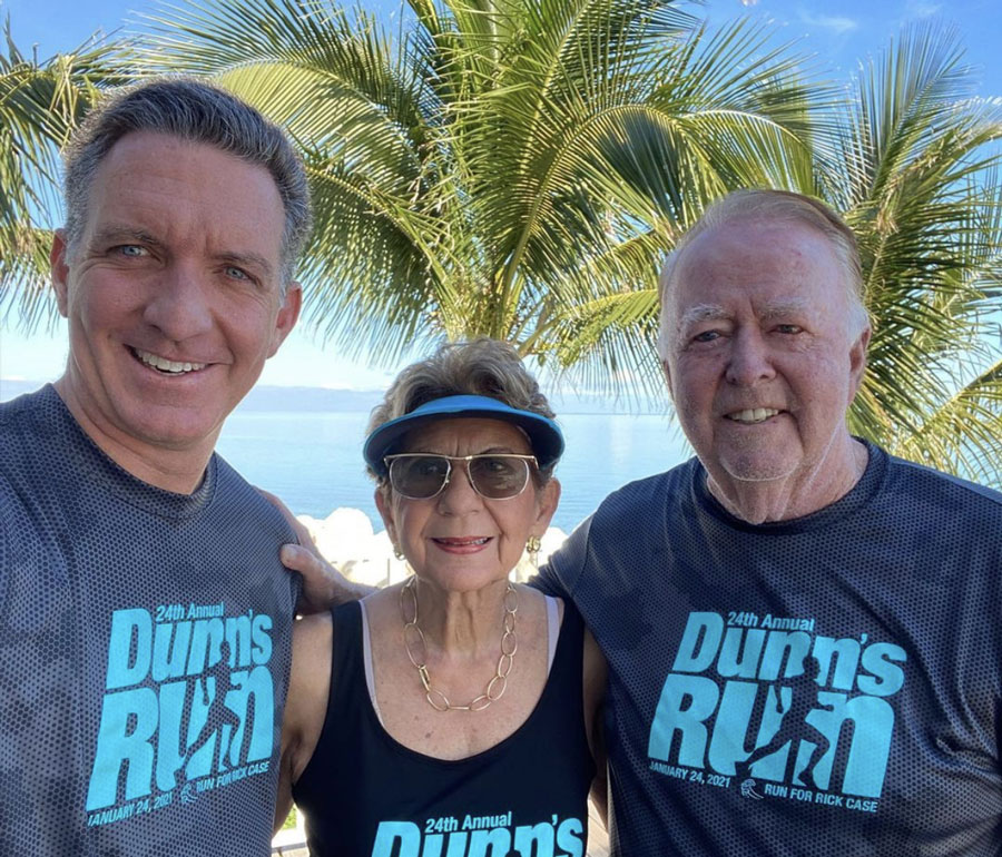 "The JR Dunn Family. he 24th annual ""Run for Rick"" Rick Case Automotive Group Dunn's Run, an on-line / virtual 5-mile & 5k walk-run with a special tribute to Rick Case for his 34 years of dedication to the Boys & Girls Clubs of Broward County."
