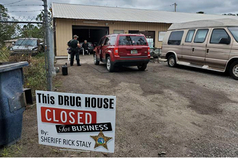 Drug Business in Bunnell Closed for Business By Detectives