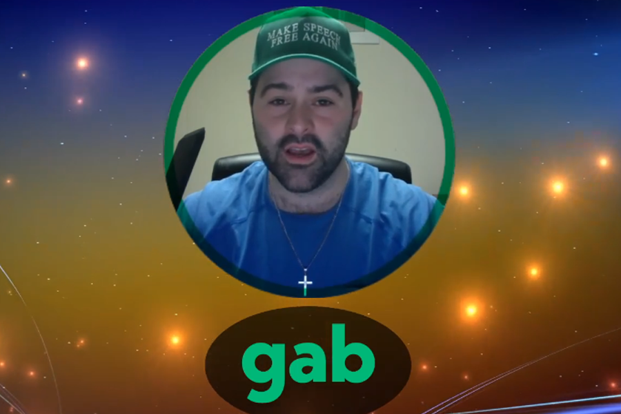 openly warning the Gab community