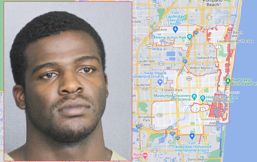 Lonzo Miller Jr., 20, of Deerfield Beach, was arrested on Monday, January 18, at around 1 p.m. for manslaughter in the July death of Zion Lamar, 20, of Pompano Beach.
