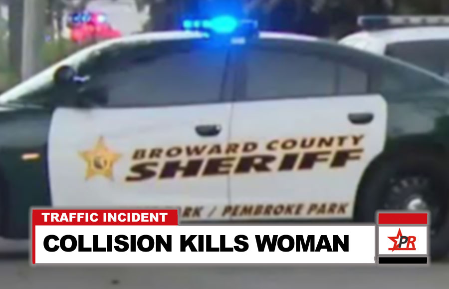 COLLISION KILLS WOMAN