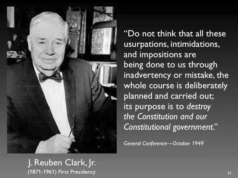 Quote Reuben Clark