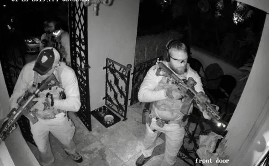 Raid at Fort Lauderdale home