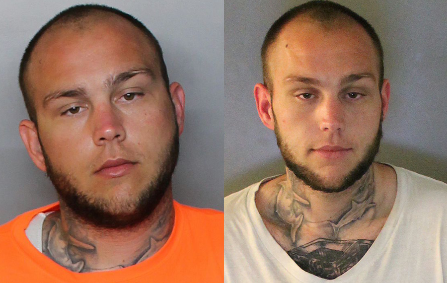 """22 year old Ryan Craig Snyder mugshots from 2020. According to the report, Snyder's arrest history goes back to 2015 as a juvenile. He is 6'1"""" , approximately 237 lbs. and has full sleeve tattoos on both arms as well as tattoos on each side of his neck and stomach."""