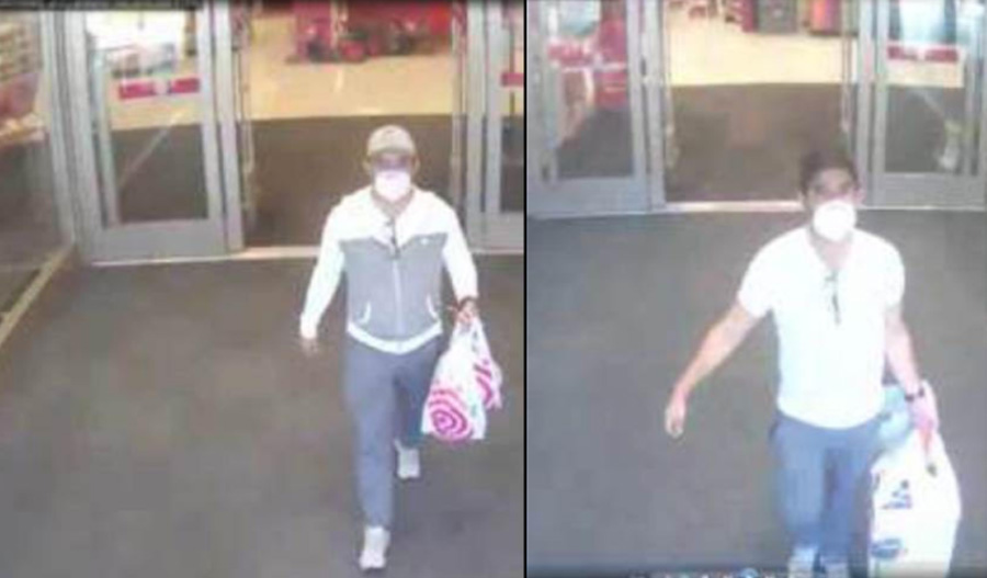 According to detectives, two unknown suspects entered Target on four separate occasions and helped themselves to several electronic items and left the store without paying. Anyone who can identify these suspects is urged to contact Crime Stoppers at 1-800-458-TIPS.