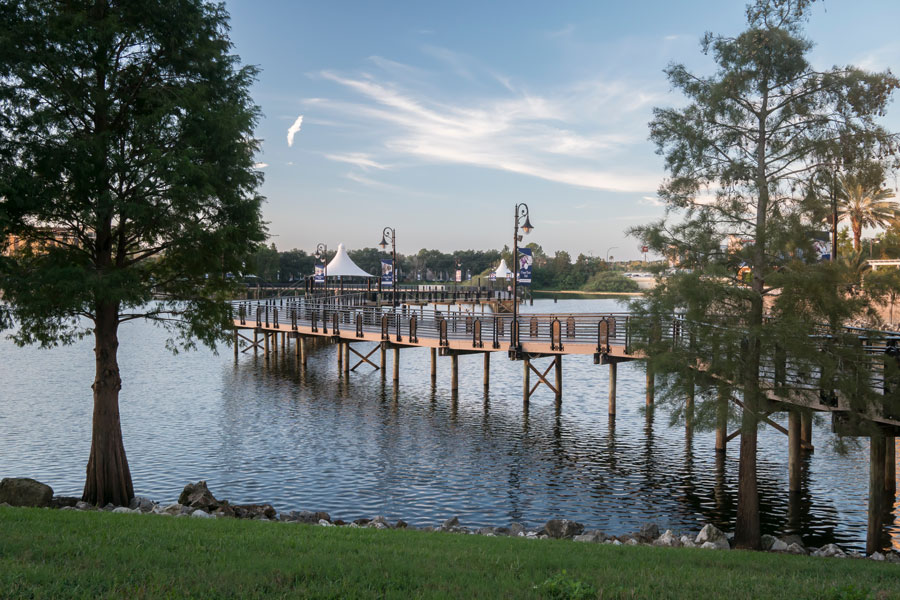 Altamonte Springs Florida with view of the lake on October 15, 2019. Editorial credit: Timothy OLeary / Shutterstock.com, licensed.