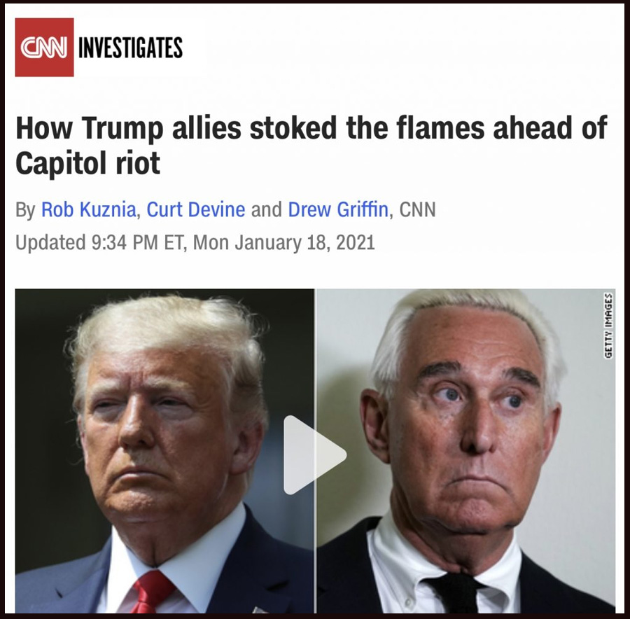 How Trump allies stoked the flames ahead of Capitol riot