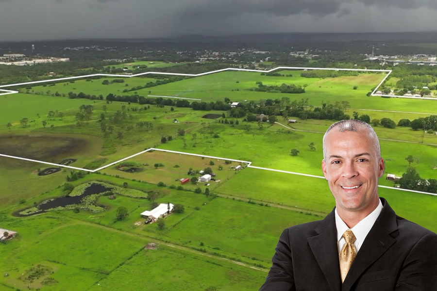 The 17-parcel tract – which was annexed into the city of St. Cloud in 2017 – is partially cleared and has been permitted for 625 single-family homes and 599 multi-family units, according to James Dicks, president of DIX Development LLC in Lake Mary.