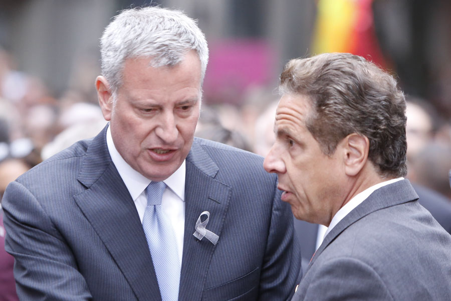 Mayor Bill de Blasio said: That's classic Andrew Cuomo. A lot of people in New York State has received those phone calls. The bullying is nothing new.