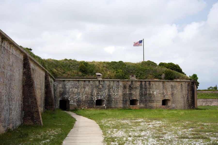 Nature and history mingle at majestic Fort Clinch State Park, where visitors can explore miles of beaches and trails as well as a Civil War fort on beautiful Amelia Island.