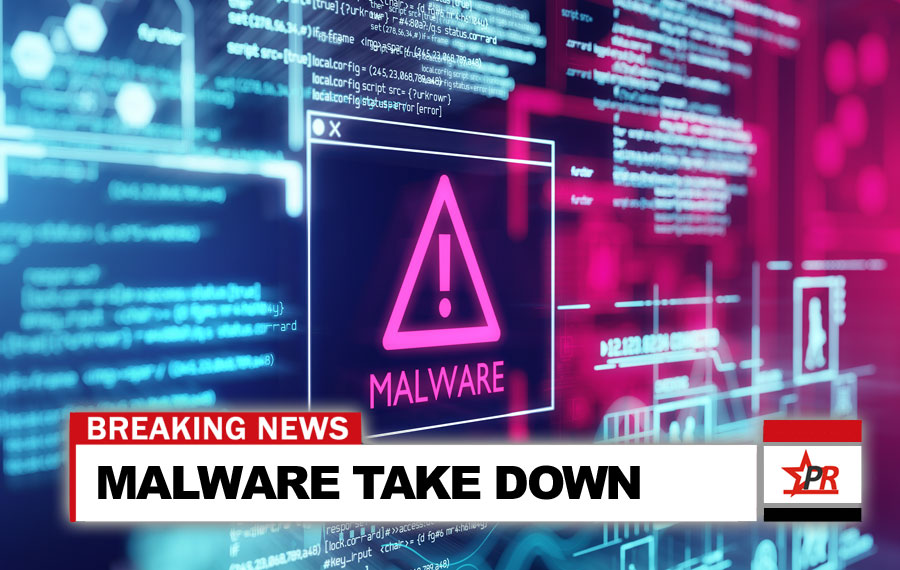 MAJOR MALWARE TAKE DOWN
