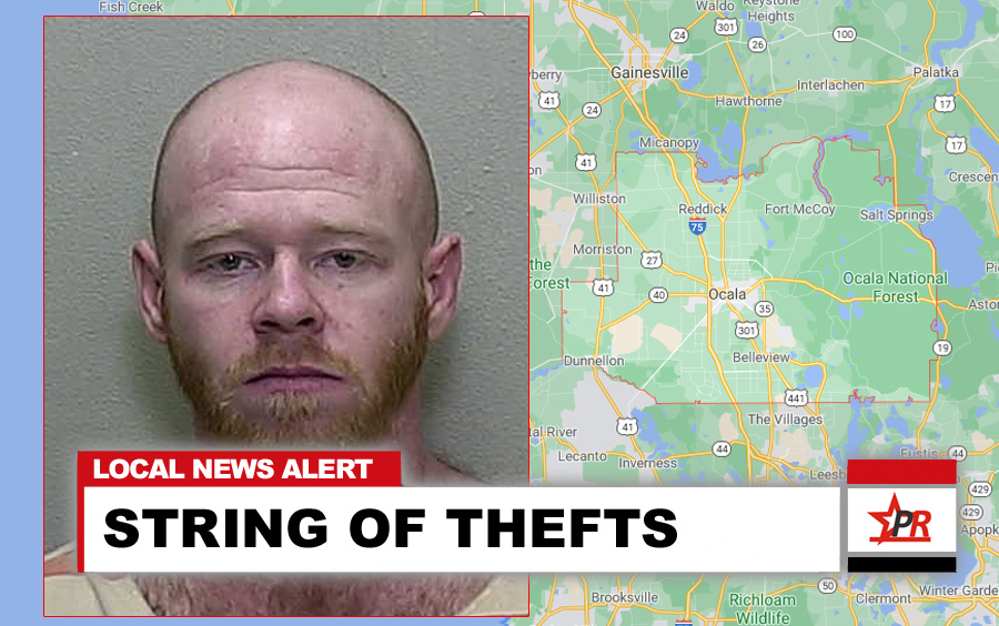 STRING OF VEHICLE THEFTS