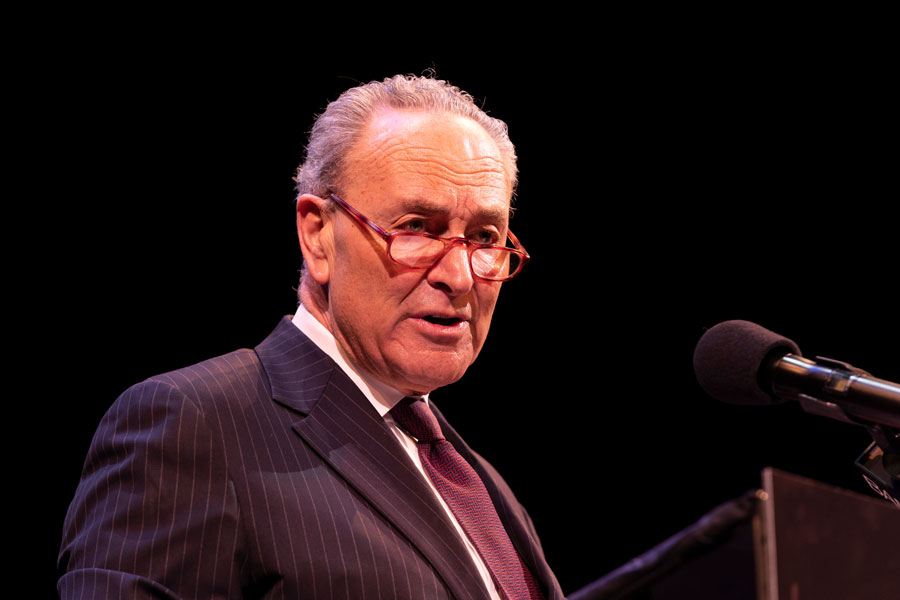 House Majority Leader Chuck Schumer Embracing Progressive Policies to Prevent 2022 Primary Challenge