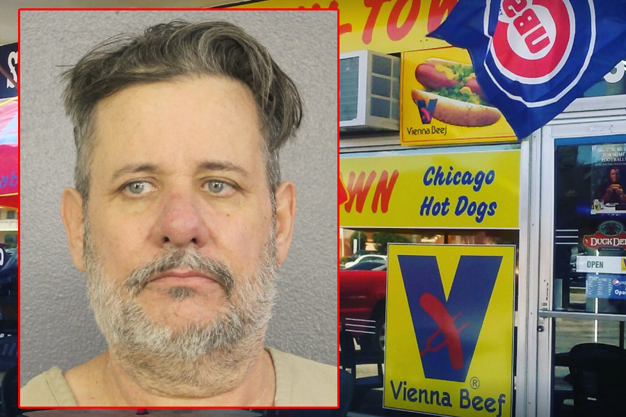 According to the Broward Sheriff's Office, Louis Younglove Sr., 57, of Oakland Park, not only served up hot dogs with fixings. He helped some people get their fix by peddling drugs.