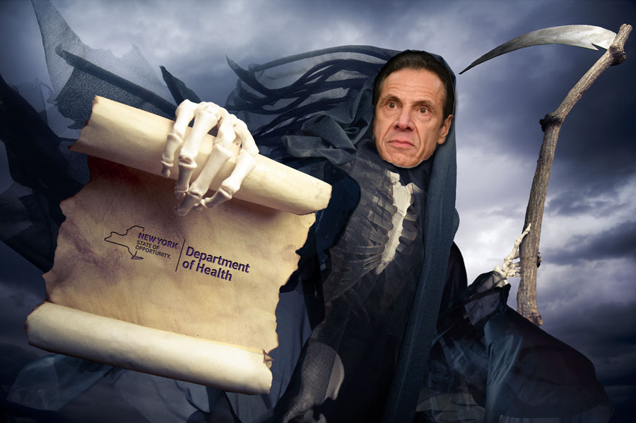 When Andy faced primary challengers for re-election, a group of NY healthcare providers handed him $1m in cash. Then in March of 2020 he rewarded them by signing legislation shielding hospital and nursing home exec's from lawsuits arising from Covid-19.