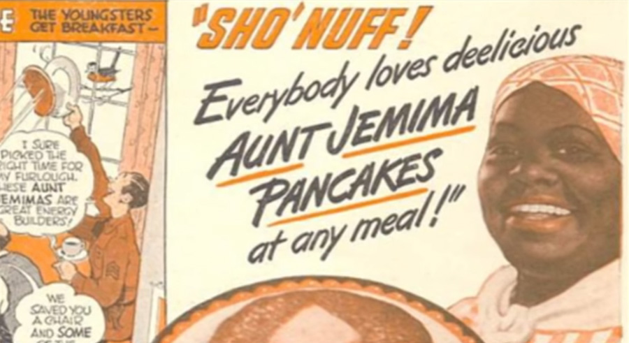 "The Aunt Jemima character was based on the enslaved ""Mammy"" which has been criticized as an example of exploited African American women."