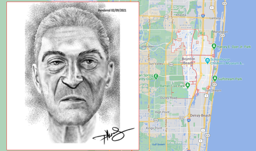 """The man is described as a white male, between 35 and 65 years of age, of European, White, Latin, or Hispanic ancestry, approximately 5'9"""" to 6' 1"""" with a tattoo of an eagle. His dental condition was very poor and he had several teeth missing."""
