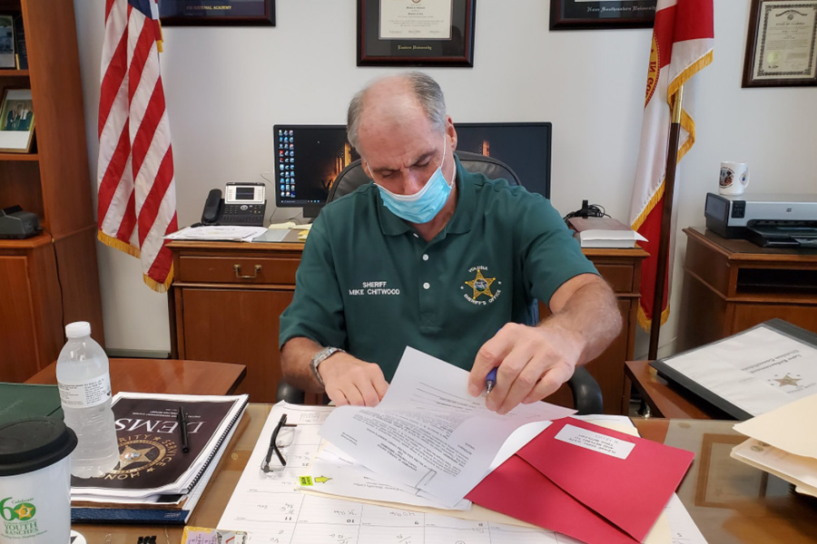 Volusia County Sheriff Mike Chitwood. Photo: Facebook.