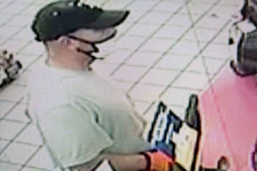 Early this morning, just after 5 a.m., an unknown suspect walked into the Circle K store, located at 17170 San Carlos Boulevard in Fort Myers Beach. The man immediately showed the clerk a large fixed blade knife with a green handle and demanded money from the register.