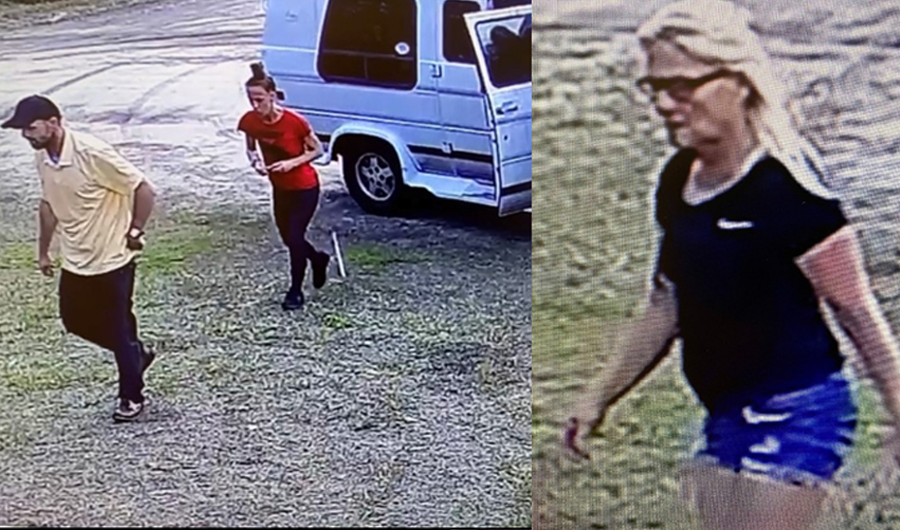 This is an active and ongoing investigation to find the remaining three suspects regarding a separate theft from St. Mary's Thrift Store. If you have any information on this incident, please contact the FCSO at 386-313-4911 and mention Case Number 2021-15263 or email TIPS@flaglersheriff.com. You can remain anonymous by calling Crime Stoppers at 1-888-277-TIPS (8477).