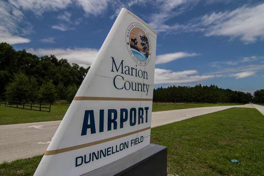 Marion County Airport Dunnellon Field, Dunnellon, Florida on June 14, 2019.