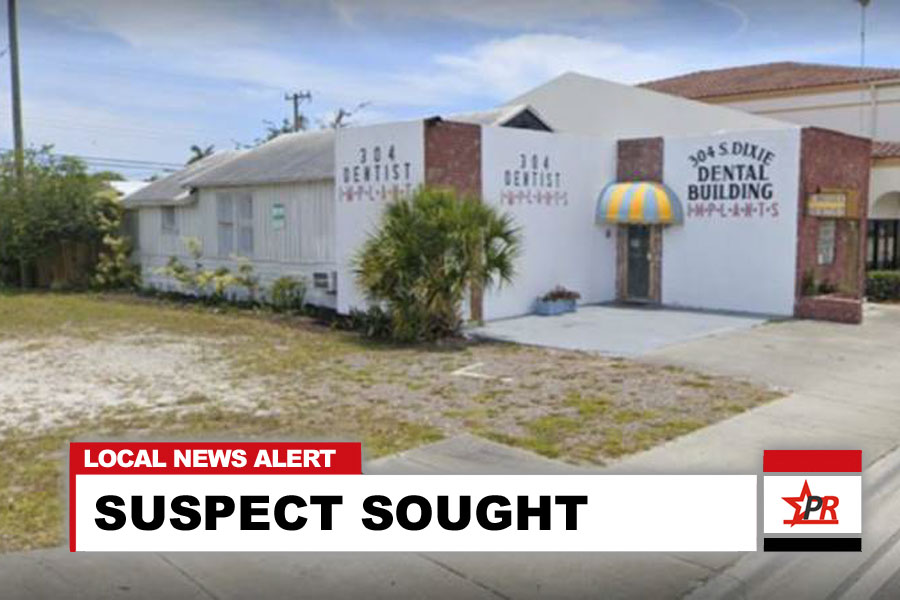 The residence sits behind a business in the 300 block of S. Dixie Highway, City of Lake Worth Beach.