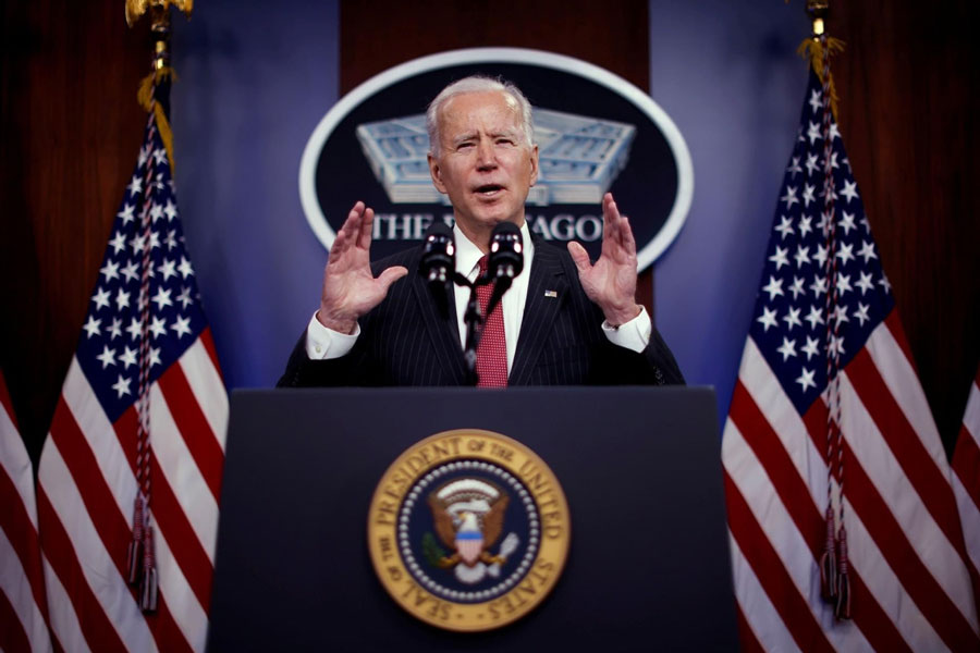 Biden to Finally Hold First Solo Press Conference March 25