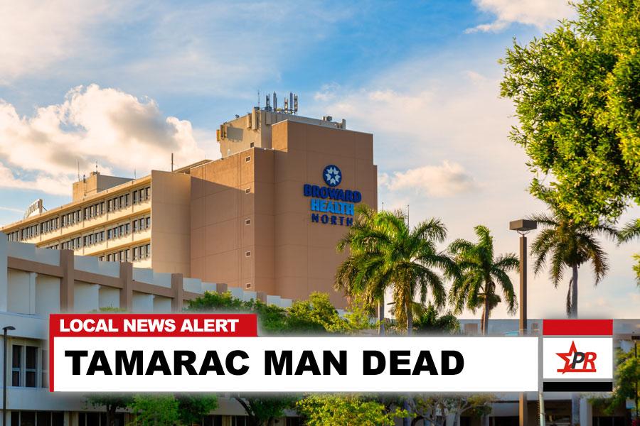 TAMARAC MAN DEAD