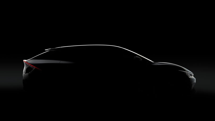 First EV to use Kia's dedicated EV platform (E-GMP) and Kia's new EV nomenclature. Distinctive silhouette displays sharp lines and high-tech details. Kia reveals new naming strategy for upcoming dedicated battery electric vehicles.