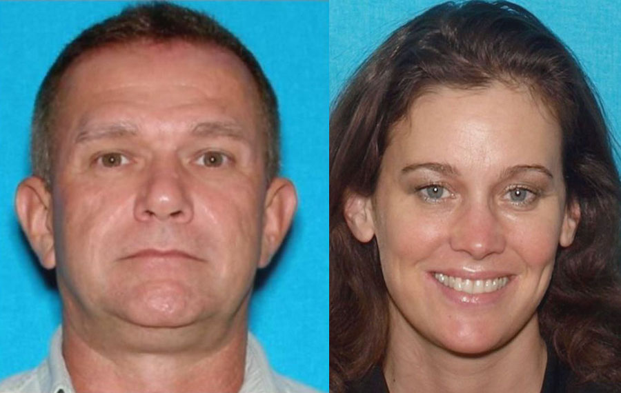 Jarvis Wayne Madison, 62, of New Albany, Indiana, faces a maximum penalty of life in federal prison for stalking and eventually killing his estranged wife 44-year-old Rachael Madison. Photos Source: Volusia County Sheriff's Office.