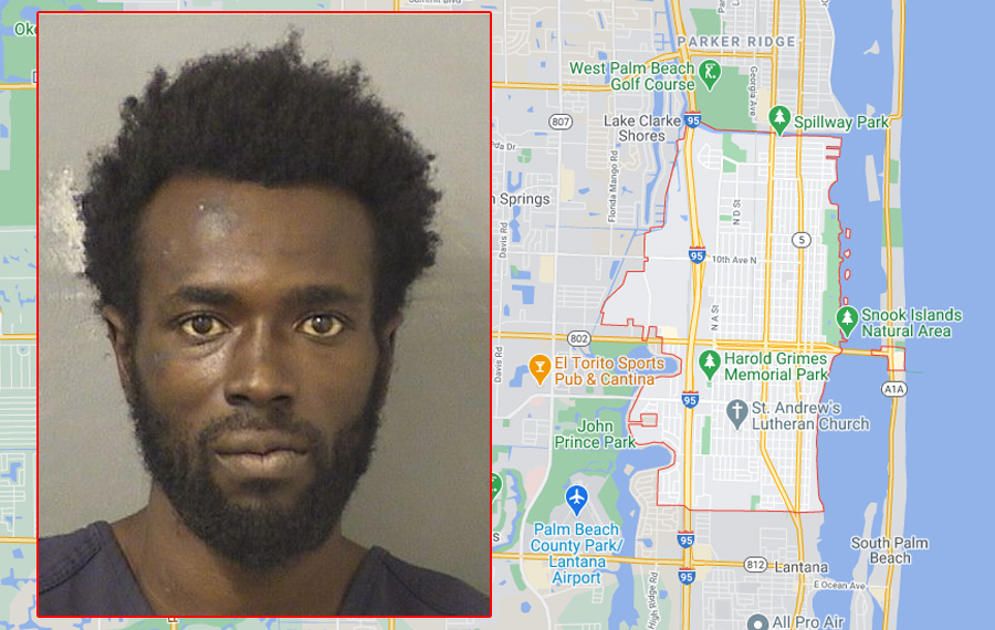 After an investigation, Jhon-Smith Saint-Eloi, 29, was transported to the Palm Beach County Jail where he was booked on two separate counts of criminal mischief. According to the Palm Beach County Sheriff's Office, Saint-Eloi confessed to committing the crime.