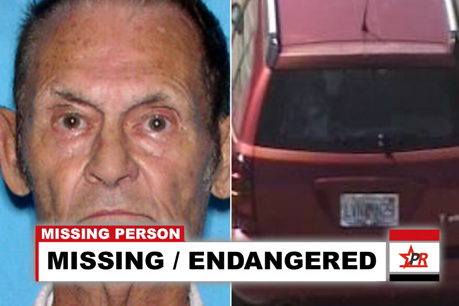 According to police, Ogil Reed, 89, is deaf and may be experiencing conditions associated with dementia. He is driving a red 2005 Pontiac Vibe bearing Florida tag #LVNN29, with intentions to drive to Kentucky.
