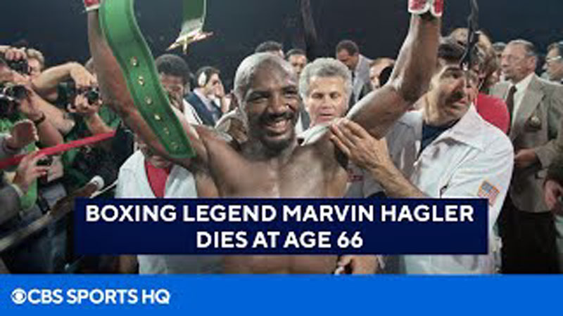 Middleweight Monster Marvelous Marvin Hagler Passes Away At 66