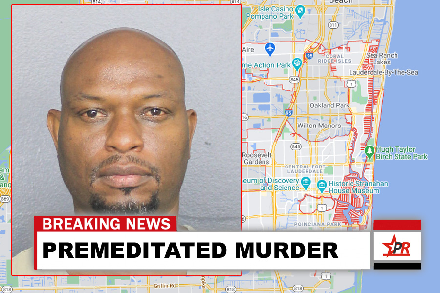 Mario A. Williams, 51, of Fort Lauderdale, faces one count of premeditated murder. He is currently being held at the Broward County Main Jail.