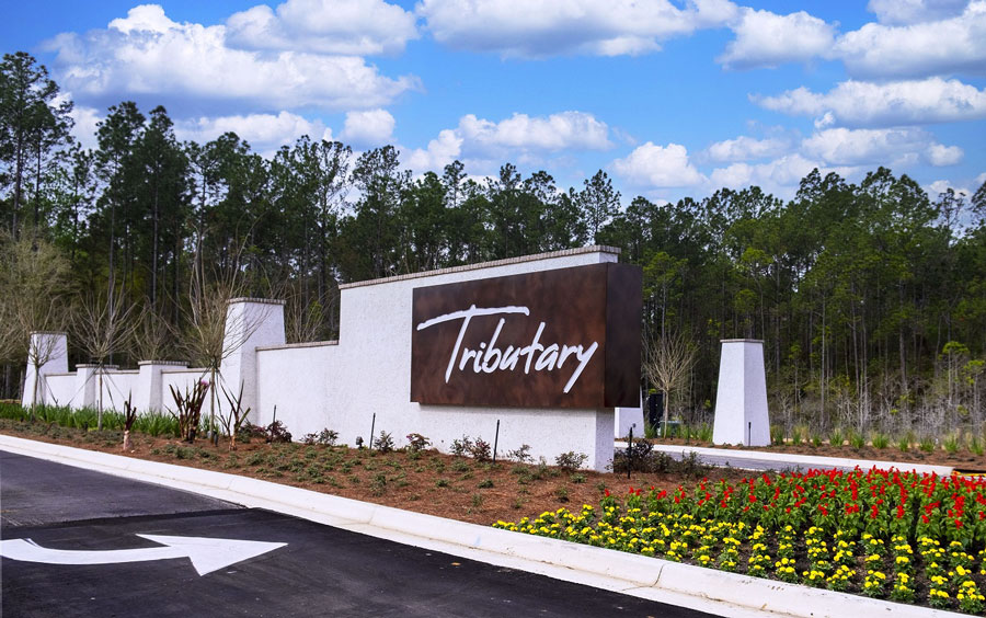 At Tributary, , North Florida's best new master-planned community, Dream Finders Homes, Lennar and Richmond American Homes are offering a distinctive collection of award-winning home designs ranging in size and style to meet the needs and lifestyle of today's homebuyers.