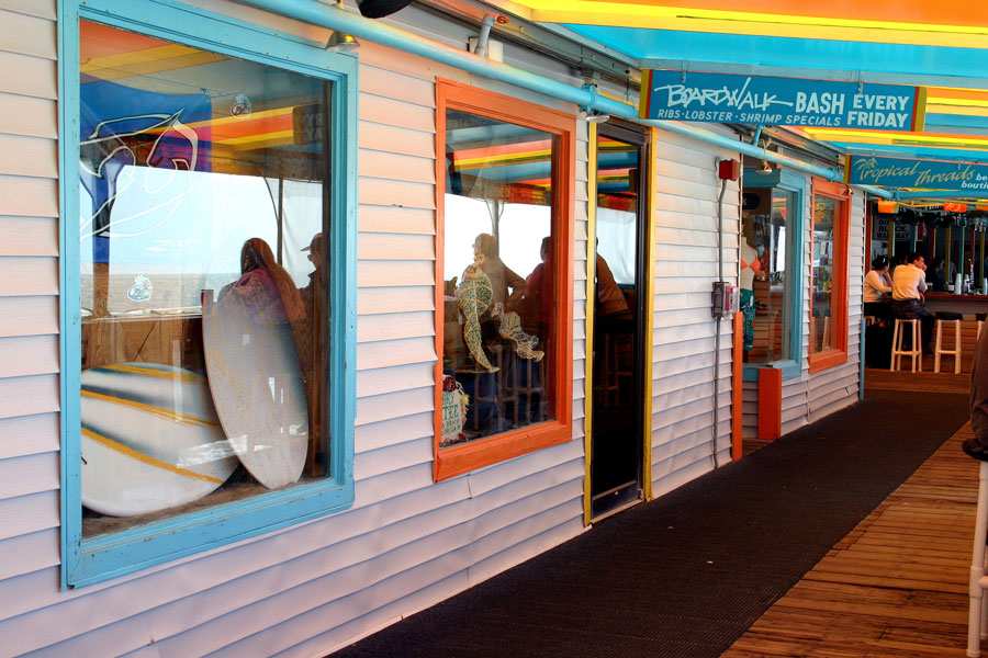 Home of the Boardwalk Bash, the Florida Beach Bar is the place to enjoy cool drinks and cool breezes and great beach views. Photo credit ShutterStock.com, licensed.