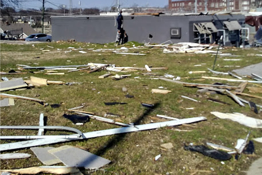 Tornado Rips Through Tennessee On The Same Month As 2020 Tornadoes