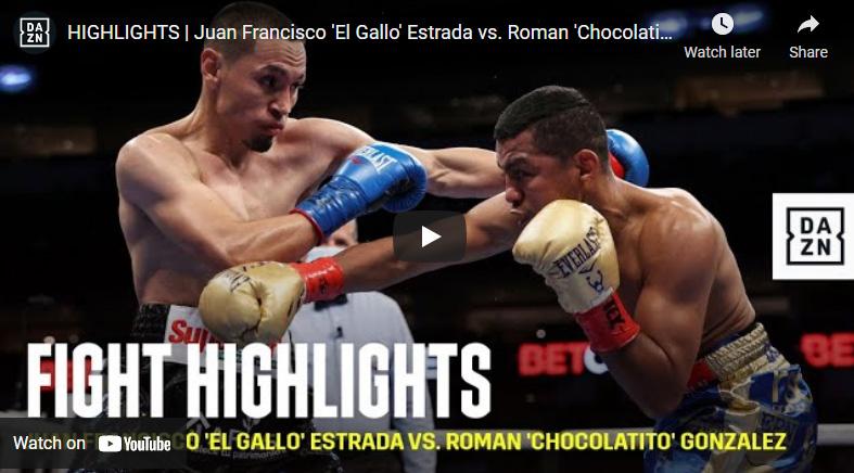 Little Men, Big Fights: Chocolatito And Estrada Fight A Second Classic