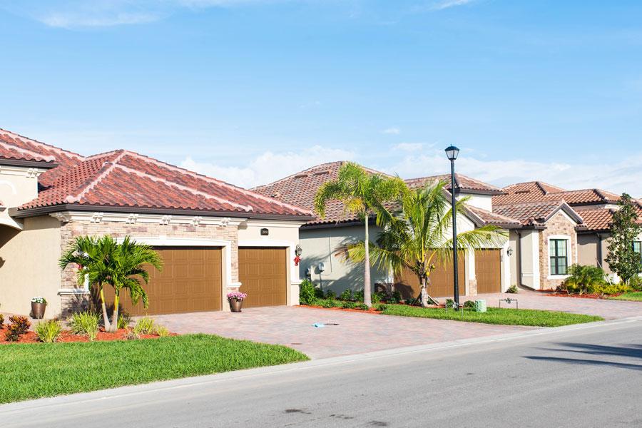 A golf community and new neighborhood in Bonita Springs, Florida.