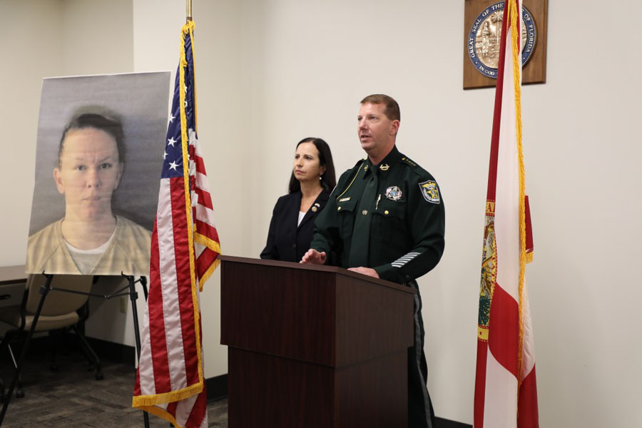 Charlotte County Sheriff Bill Prummell and Florida State Attorney Amira Fox. announced an indictment by the Charlotte County Grand Jury for defendant Lacey Jayne Shaver. This is the first time ever in Charlotte County that a person has been indicted for murder for unlawful distribution of drugs and only the second time in the 20th Judicial Circuit.
