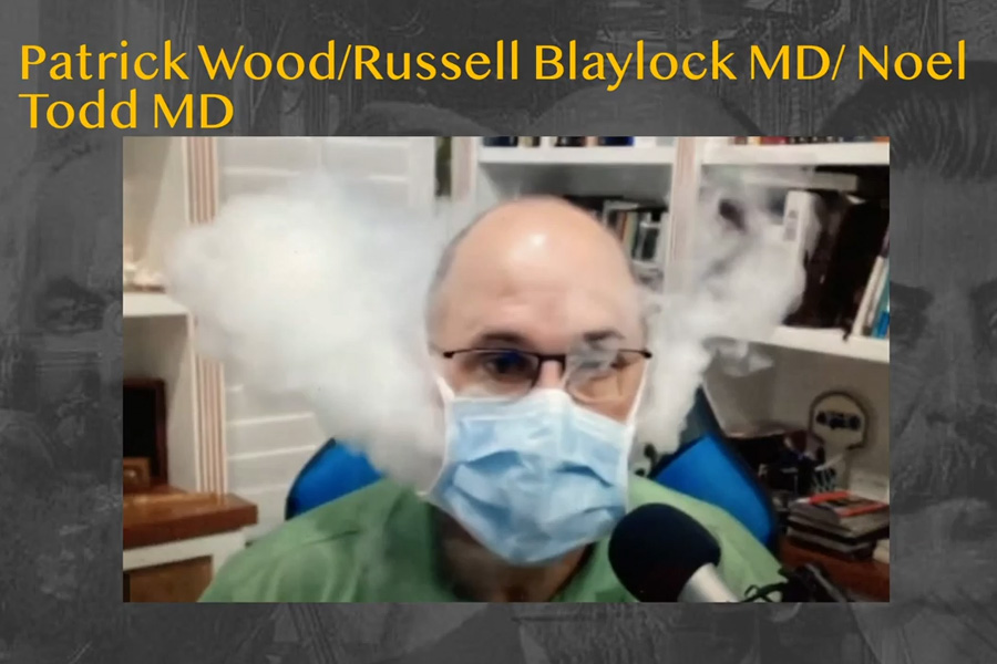 In the video, Dr. Merritt also explained how a variety of masks performed while a wearer vaped wearing them.