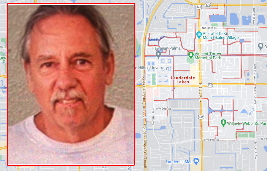 Detectives say Mark Welch was last seen 5 p.m. Monday, March 29 at his residence located at 2901 N.W. 48th Avenue in Lauderdale Lakes.