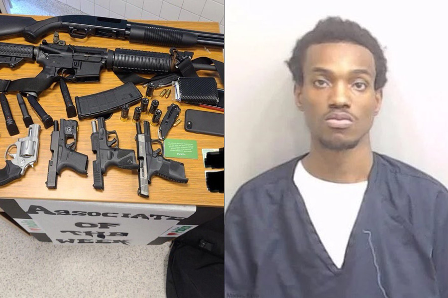 Two days after 10 people were murdered at a grocery store in Colorado, Rico Marley, 22, was arrested at an Atlanta supermarket with a semiautomatic rifle, a shotgun and 4 handguns. Marley was also wearing body armor and had a cache of ammunition according to police.