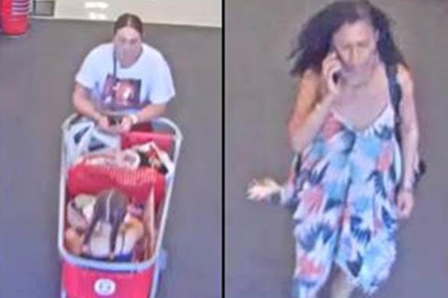 According to the report, after the unknown females attempted to pay for clothing with a credit card that declined, they left the store with the merchandise. Detectives believe the females may have entered a blue Nissan Titan with running boards and a black tool box in the bed.